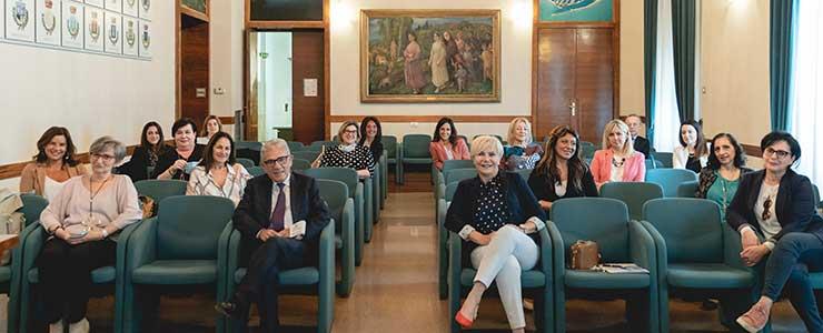 La Camera di Commercio Chieti Pescara si tinge di rosa